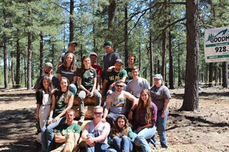 Cal Poly logging team.