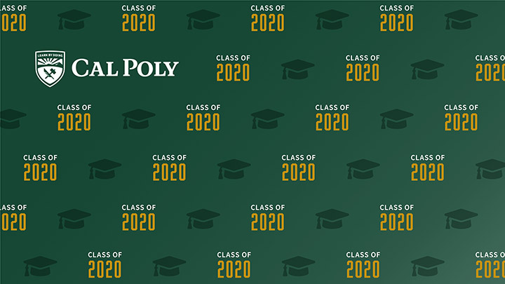 Zoom background for the Class of 2020