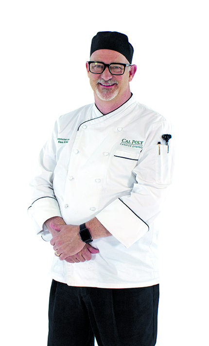 Cal Poly Executive Chef Ken Kline