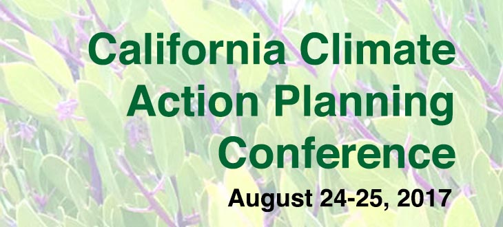 California Climate Action Planning Conference
