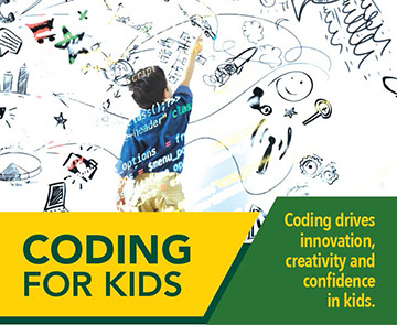 Coding for Kids classes.