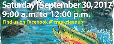 Creek clean-up day planned Sept. 30