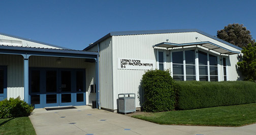Photo of the exterior of the Dairy Innovation Institute at Cal Poly.