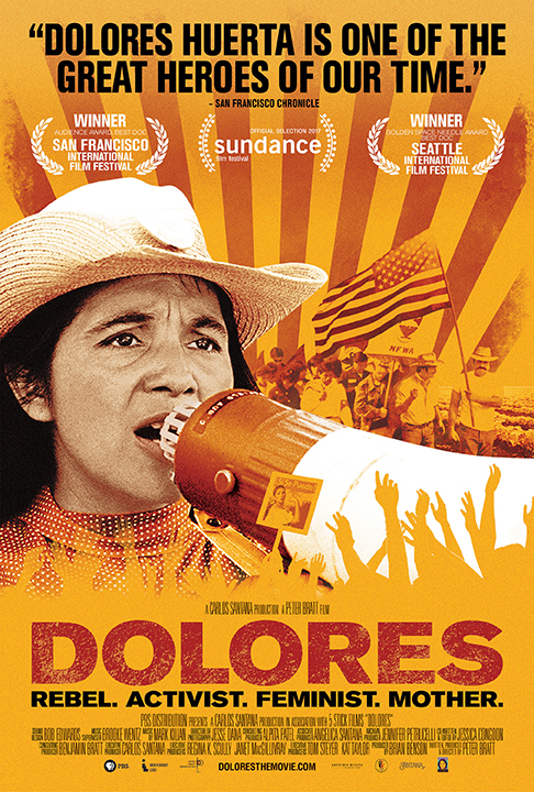 "Photo of poster for the film ""Dolores"""