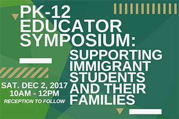 PK-12 Educator Symposium to be held Dec. 2.