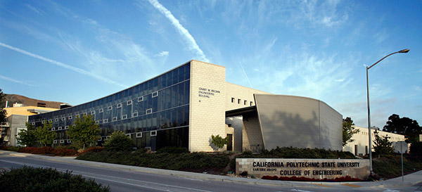 Photo of a College of Engineering building.