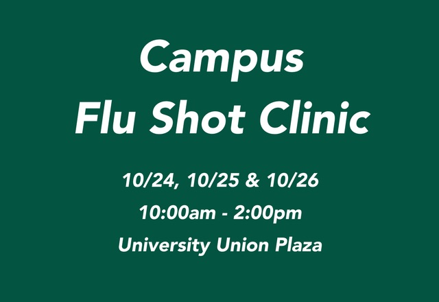 Campus Flu Shot Clinic