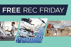 Free Rec Friday at the Cal Poly Recreation Center
