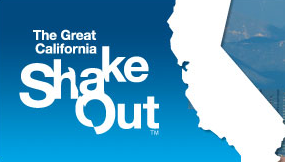 Great California Shake Out logo