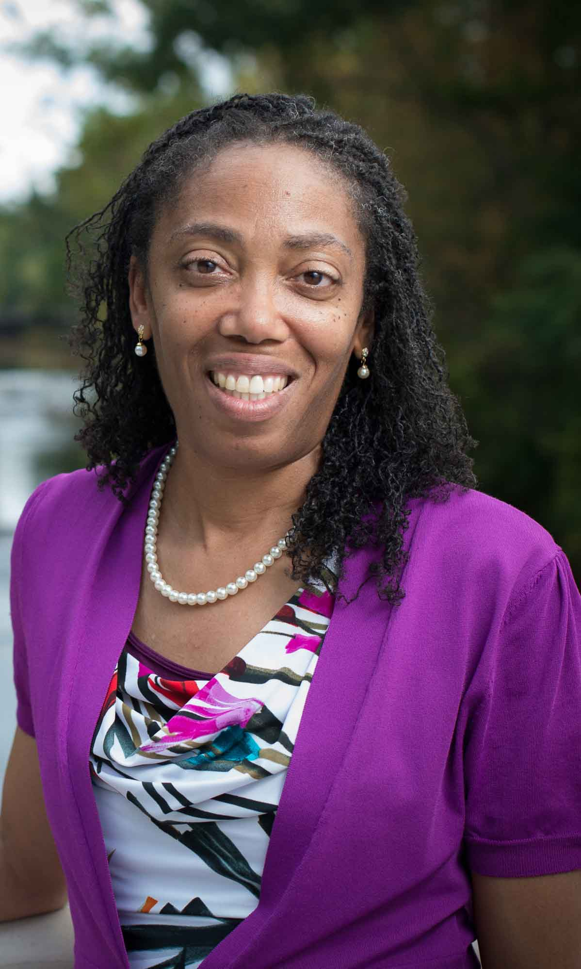 Cynthia Jackson-Elmoore, dean and professor of MSU's Honors College