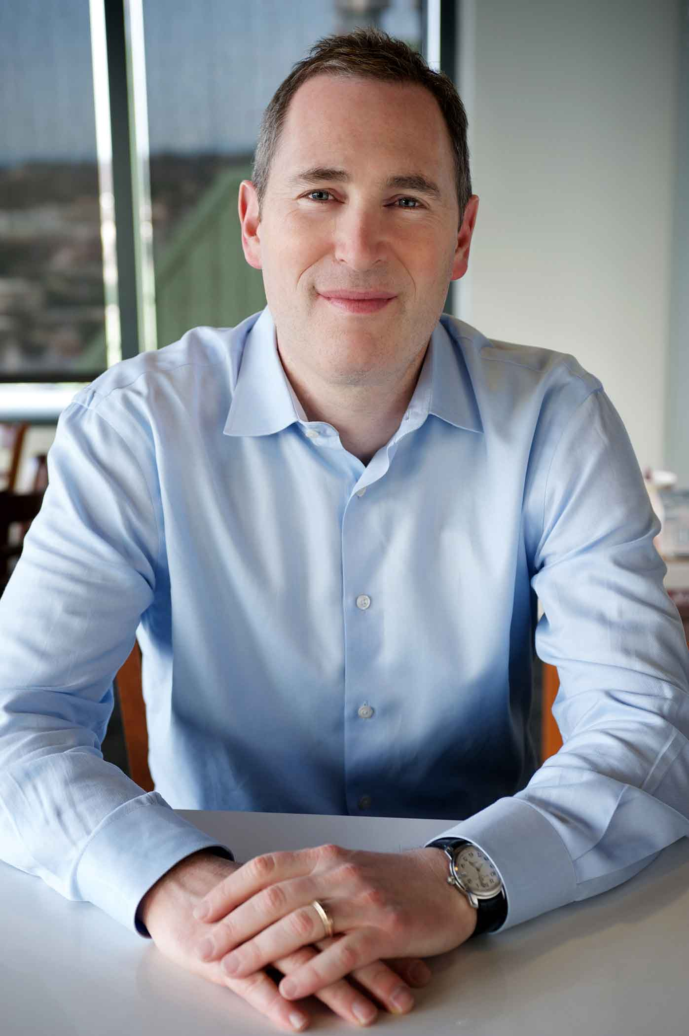 Photo of Andy Jassy,CEO of Amazon Web Services