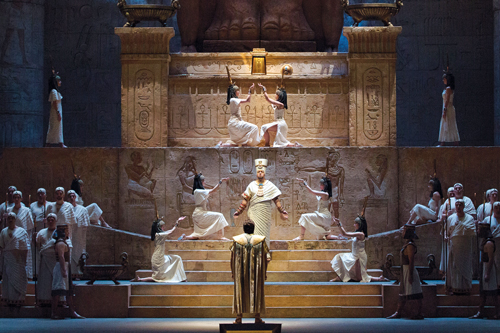 a scene from the opera Aida