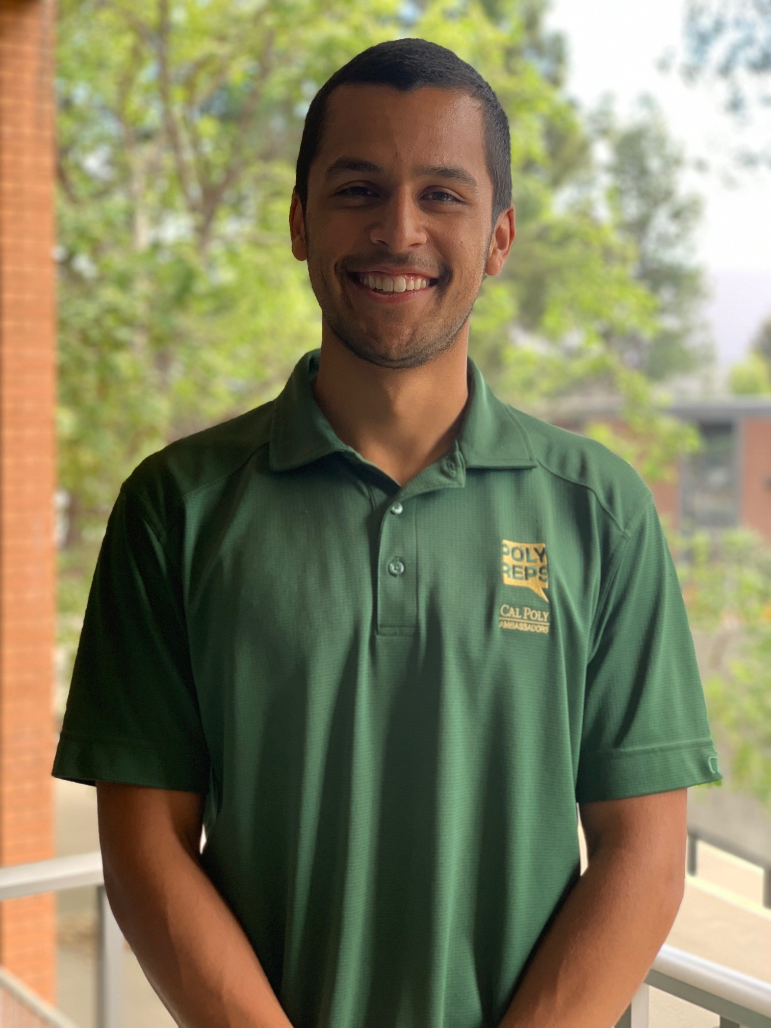 Cal Poly student Marco Zuniga