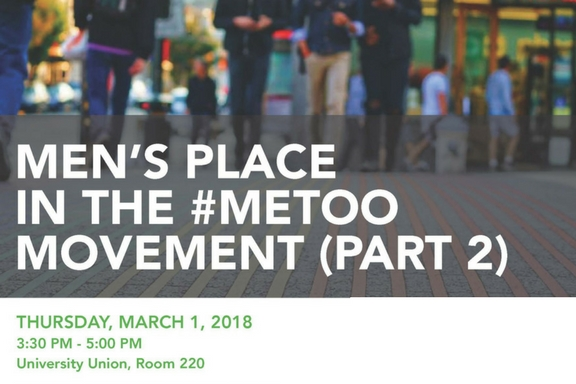 Men's place in the #MeeToo movement on March 1