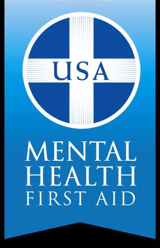 Graphic reading USA Mental Health First Aid