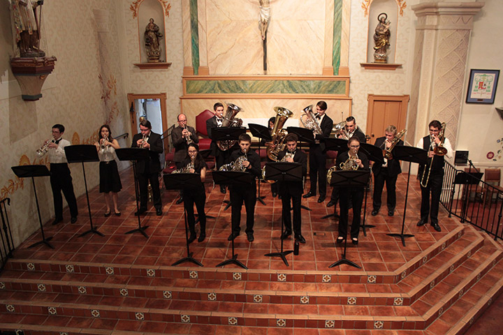 File photo from the 2018 Night at the Mission concert at Mission San Luis Obispo de Tolosa.