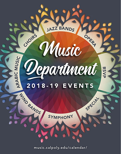 Music Department 2018-19 events