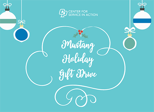 Mustang Holiday Gift Drive