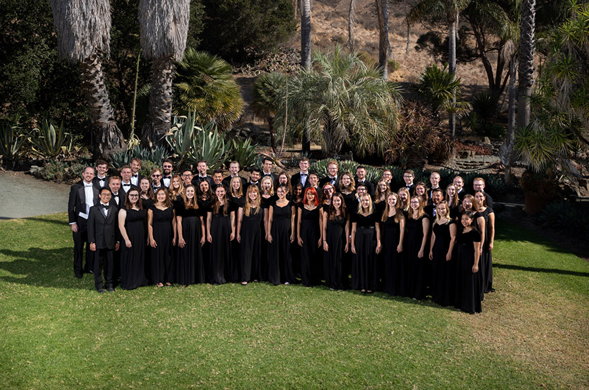 PolyPhonics, Cal Poly's premiere choir, will conclude the March 15 program.