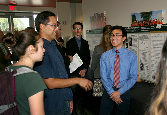 Photo from the Summer Undergraduate Research Program symposium.