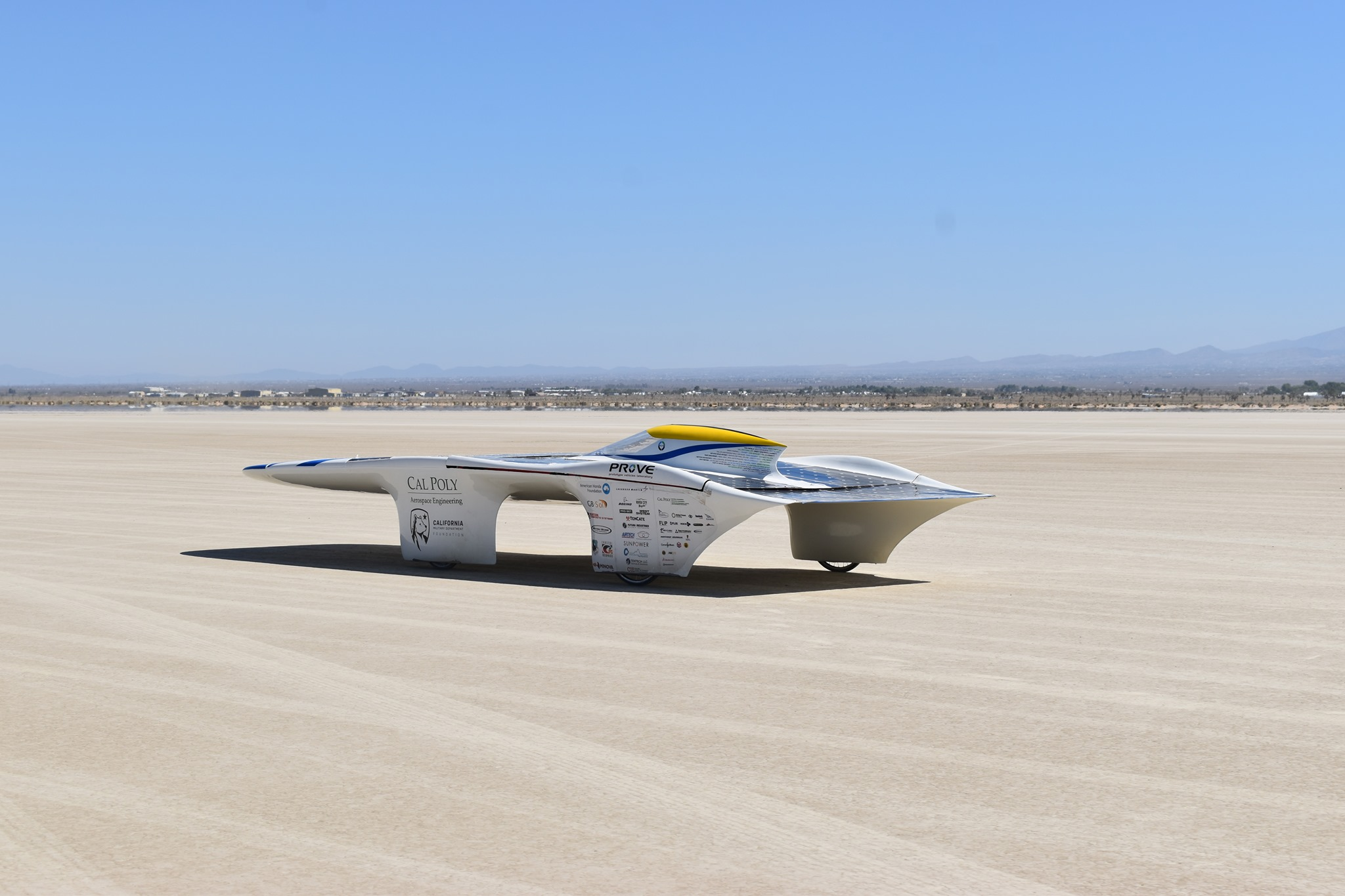 """""""No engine, no batteries, just 100 percent renewable energy from the sun."""""""