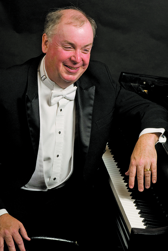 Music Department Chair W. Terrence Spiller