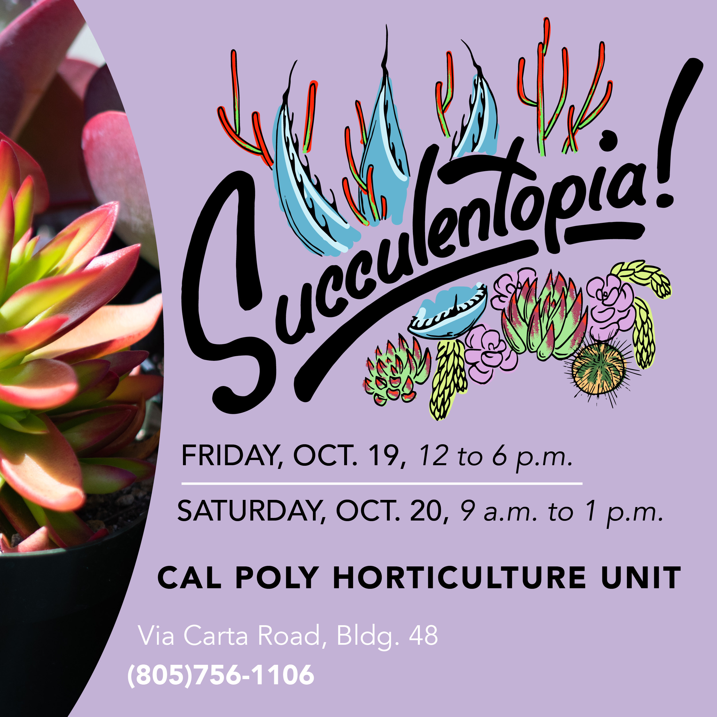 Poster for Succulentopia!