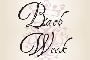 Graphic for Bach Week.