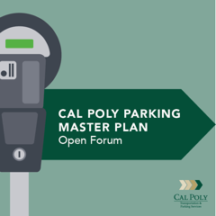 Cal Poly Parking Master Plan logo