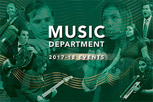 Music Department 2017-18 events