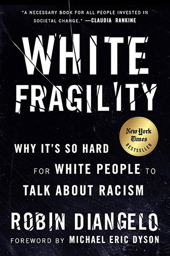 "Image of the book cover of ""White Fragility"""