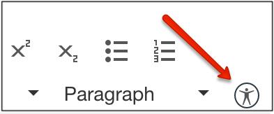 Accessibility Checker in Canvas Rich Content Editor