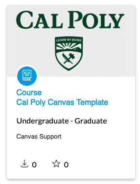 Cal Poly Template