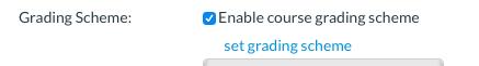 Grade Scheme