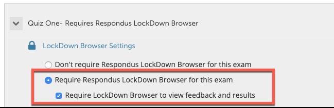 require lockdown