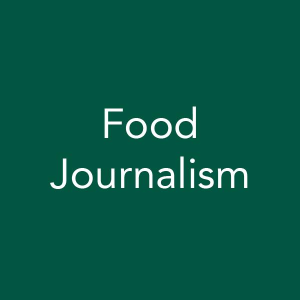 food journalism