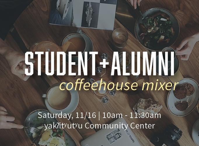 Student Alumni Coffeehouse Mixer