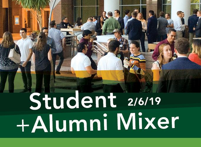 Student Alumni Mixer