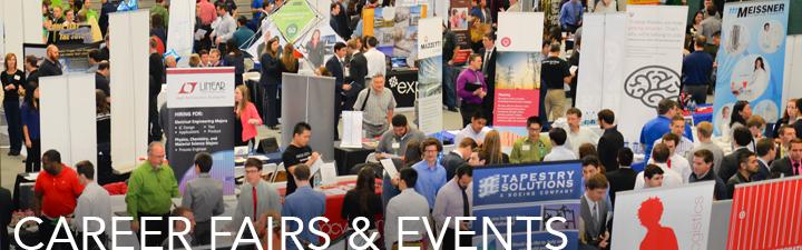 Career fairs & events