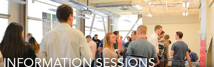 Information Sessions Header