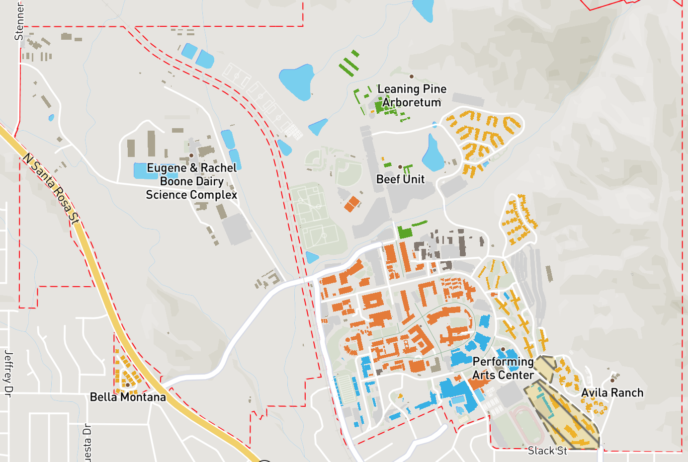 General Information - CCI - Cal Poly, San Luis Obispo on ucsd map, georgia tech map, sonoma state map, california map, georgetown map, duke map, cornell map, houghton college map, usc map, cal state northridge map, camp slo map, uc riverside map, cal state pomona map, sacramento state map, poly canyon trail map, valparaiso map, uc irvine map, loyola marymount map, cal state san luis obispo, weber state map,