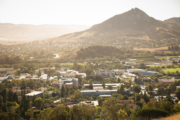 View of Cal Poly.