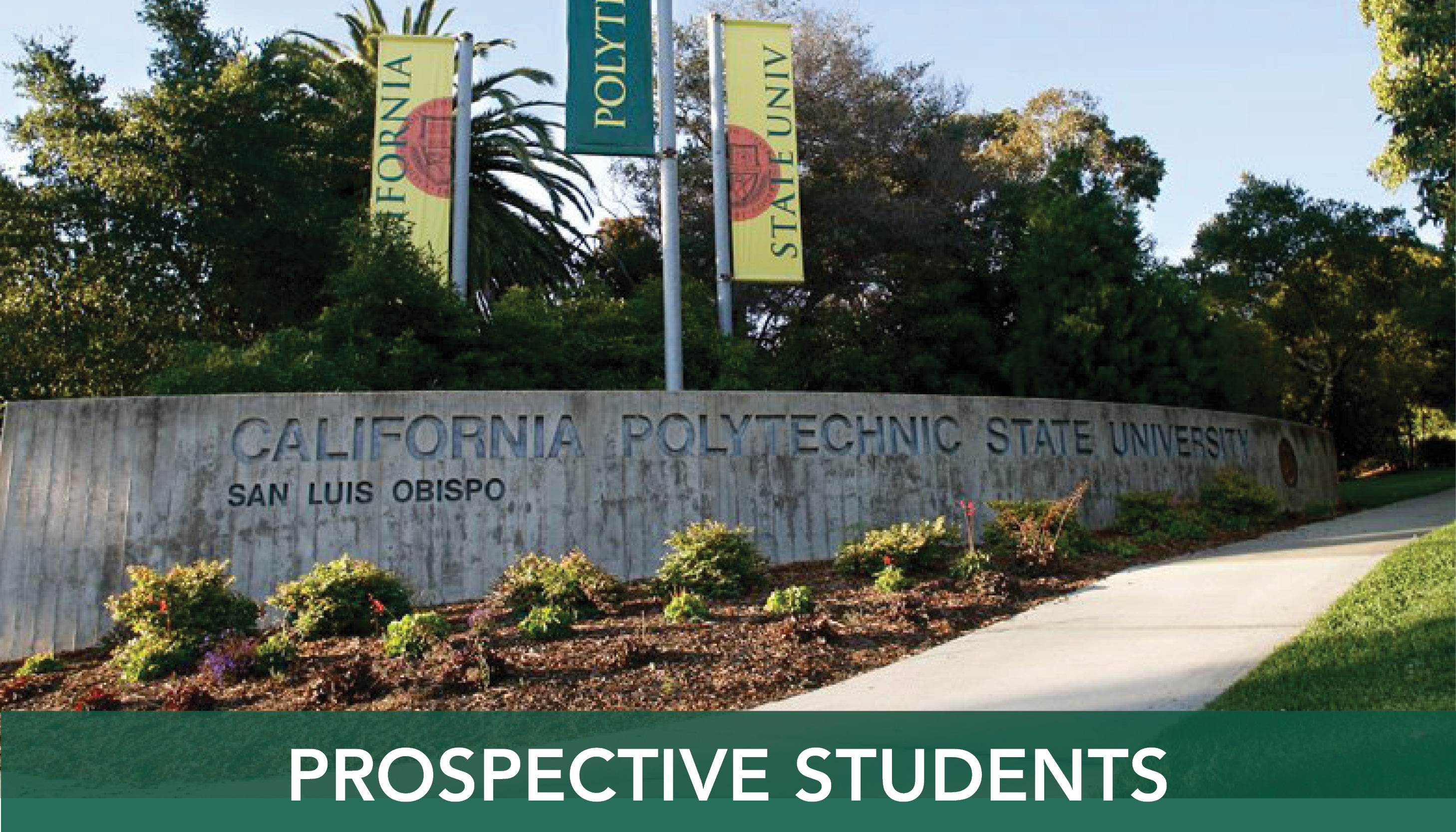 Cal Poly campus sign