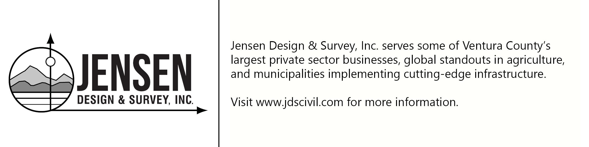 Jensen logo with description of company