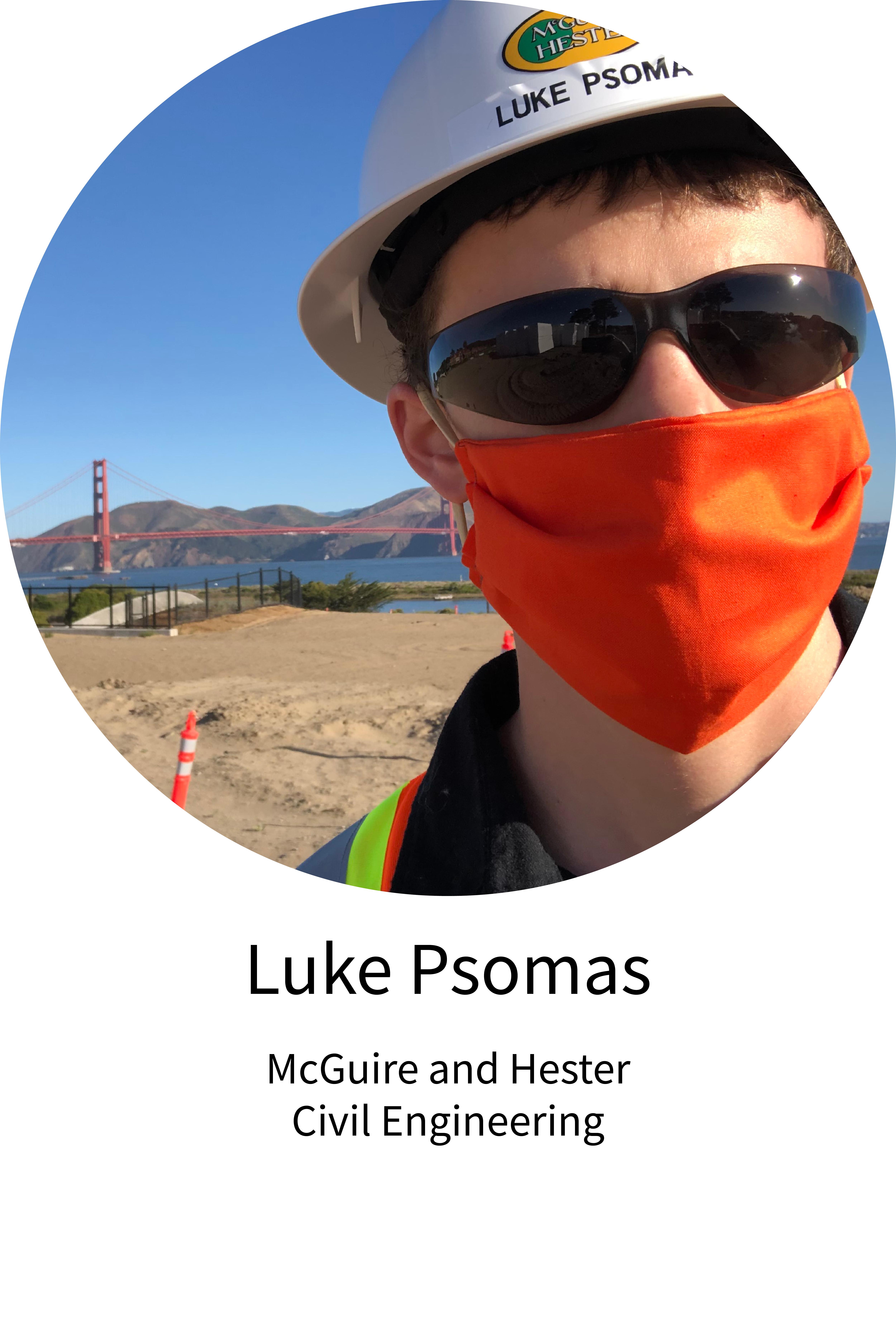 Luke Psomas Internship Spotlight