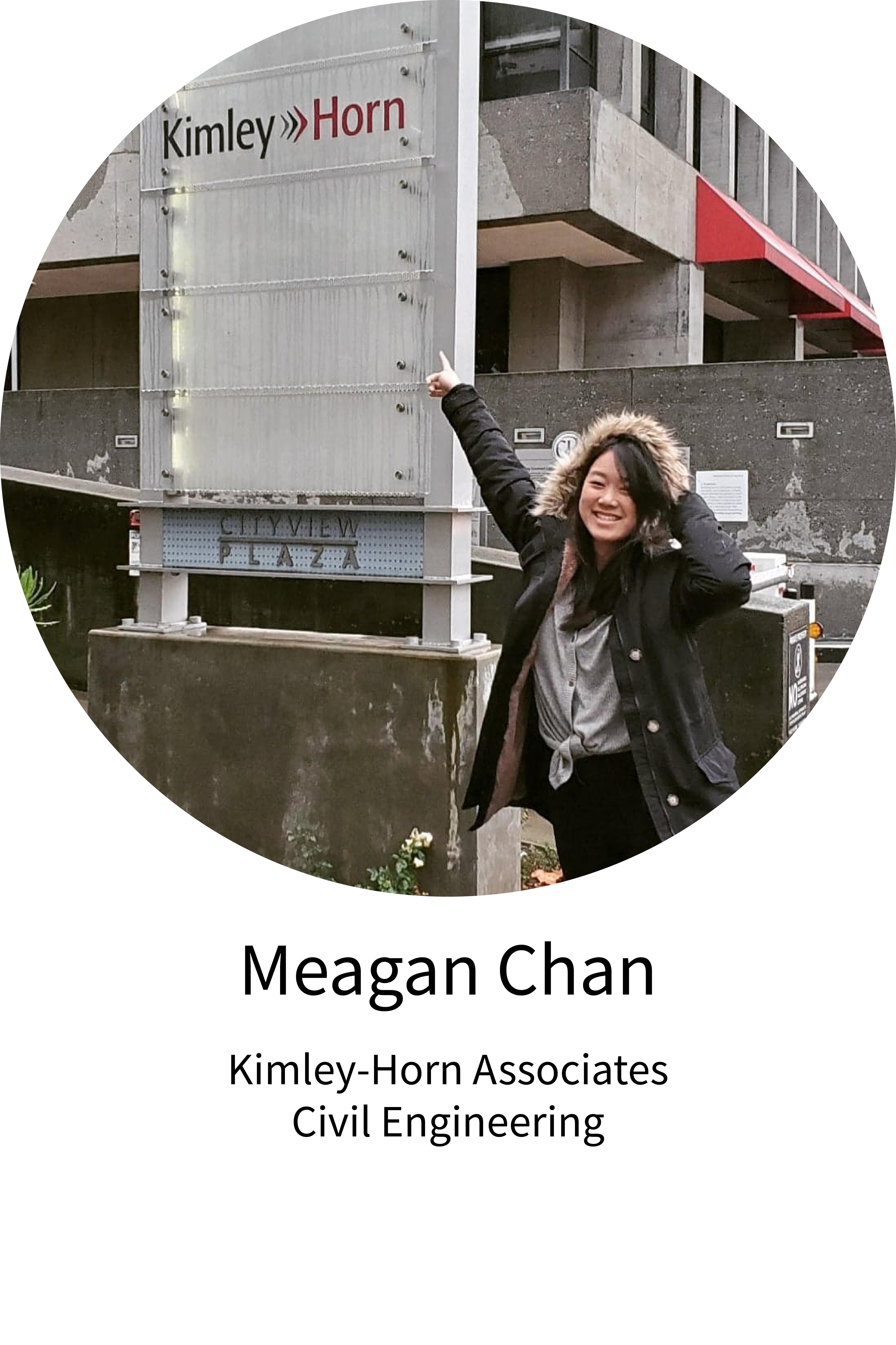 Meagan Chan Internship Spotlight