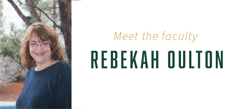 Rebekah Oulton is an associate professor for civil and environmental engineering at Cal Poly.