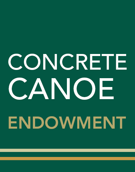 Concrete canoe endowment