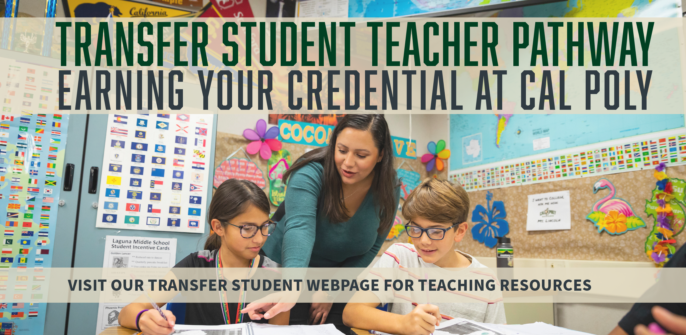 Transfer Student Teacher Pathway - Earning Your Credential at Cal Poly