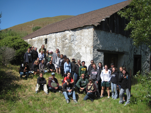 Students at Swanton Pacific Ranch